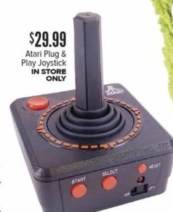 Atari Plug and Play Joystick In-Store Only