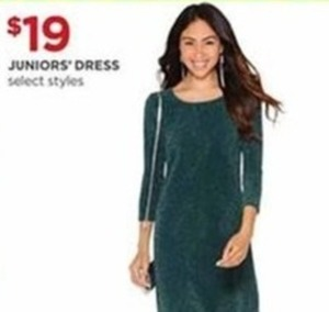 Juniors' Dress