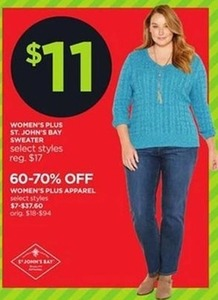 St. John's Bay Women's Plus Apparel
