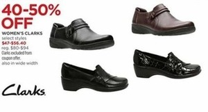 Women's Clarks - Select Styles