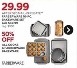 All Cooks & Farberware Bakeware