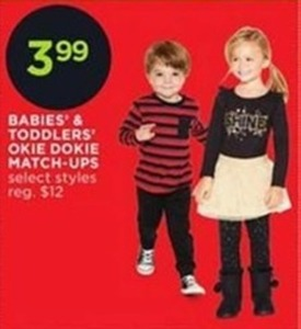 Baby and Toddler Okie Dokie Match-Ups