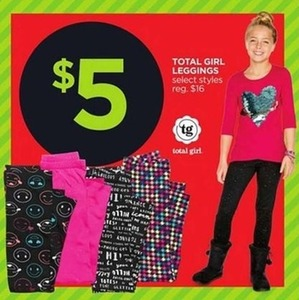 Total Girl Leggings