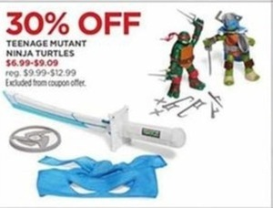 Teenage Mutant Ninja Turtles Toys