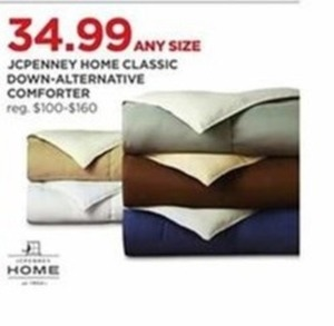 JCPenny Home Classic Down-Alternative Comforter Any Size