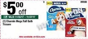 Charmin Mega Roll Bath Tissues