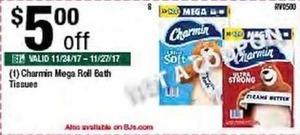 Charmin Mega Roll Bath Tissues