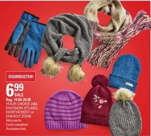 A&I, Envision Studio, Northcrest or Energy Zone Women's Cold-weather Accessories