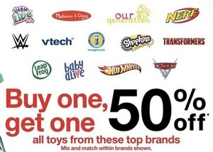 All Toys From These Top Brands