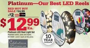 Platinum LED Reel Light Set w/ Card