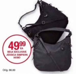 Belk Exclusive Jessica Simpson Hobo