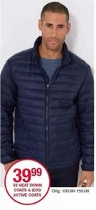 Izod Men's Active Coats