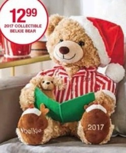 2017 Collectible Belkie Bear