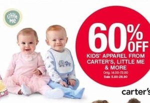Kids' Apparel From Carter's, Little Me & More