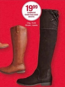 Rampage Over-the-Knee Boots