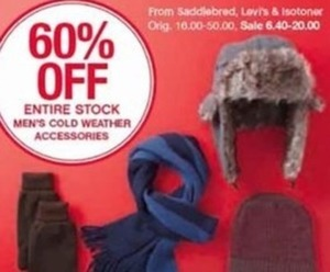 Men's Cold Weather Accessories Entire Stock