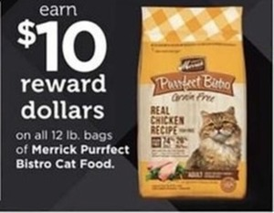 Merrick Purrfect Bistro Cat Food 12lb Bags +$10 Reward Dollars