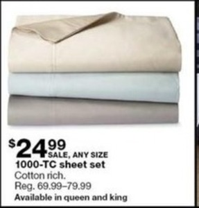 1000-TC Sheet Set