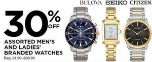 Assorted Men's and Ladies' Watches