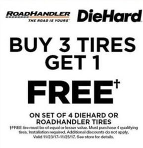 Diehard Or Roadhandler Tires