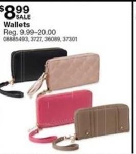 Women's Wristlet Wallet