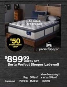 Serta Pefect Sleeper Ladywell