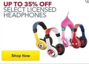 Select Licensed Headphones