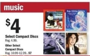 Select Compact Discs