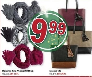 Berkshire Cold Weather Gift Sets or Massini Tote