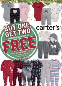 Entire Stock of Carter's Apparel of Sleepwear