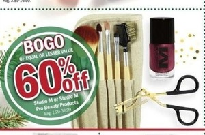 Studio M or Studio M Pro Beauty Products