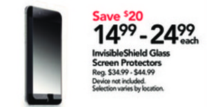 Invisible Shield Glass Screen Protectors