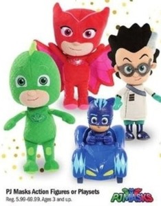 Pj Masks Action Figures Or Playsets