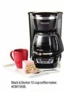 Black & Decker 12-cup Coffee Maker After Rebate