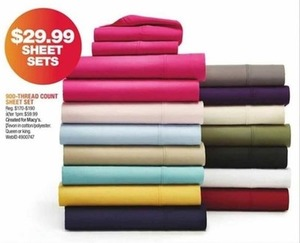 900-Thread Count Sheet Sets
