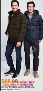 Calvin Klein & Tommy Hilfiger Outerwear