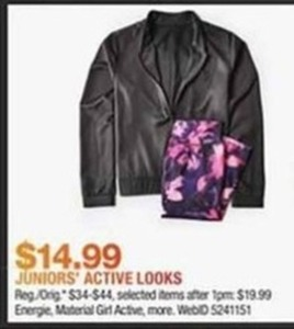 Juniors Active Looks