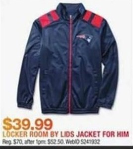 Locker Room By Lids Jacket For Him