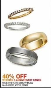 Wedding & Anniversary Bands