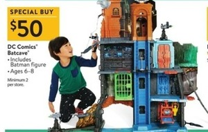 DC Comics Batcave Playset