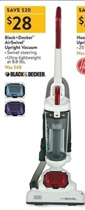 Black + Decker AirSwivel Upright Vacuum