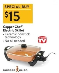 Copper Chef Electric Skillet