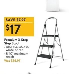 Premium 3-Step Stool
