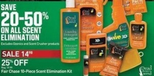 On All Scent Elimination