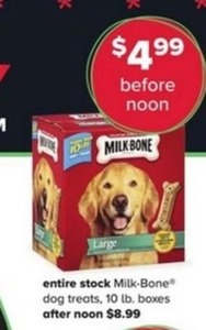 Milk-Bone Dog Treats, 10lb. Boxes