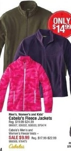 Cabala's Fleece Jackets