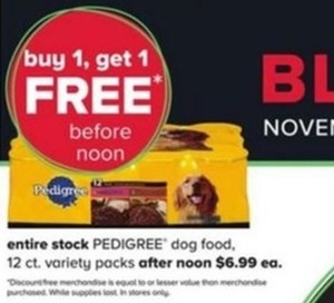 Pedigree Dog Food 12count Variety Packs