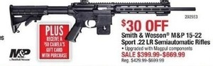 Smith & Wesson M&P 15-22 Sport .22 LR Semiautomatic Rifles