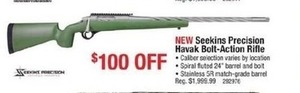 Seekins Precison Havak Bolt-Action Rifle
