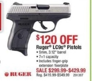 Ruger LC9s Pistols